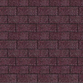 Karibu Dachschindeln Rechteck - Dunkelrot 3m² Pakete