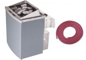 Karibu Ofen 9 kW mit integrierte Steuerung inkl. Anschluss-Kabel A
