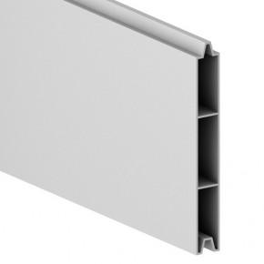 TraumGarten Einzelprofil System Alu Classic silber - 15 x 2 x 179 cm