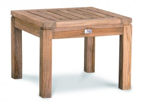 Best Teak-Hocker Moretti 50x50cm grey-wash