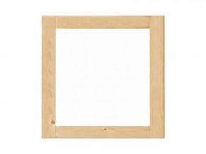 Karibu Holz Fenster für 14 mm Wandstärke - feststehend - naturbelassen