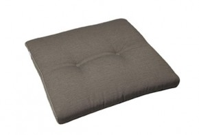 Best Stuhlauflage konisch 44 x 48/44 x 5cm Dessin Nr.: 1233 Farbe: taupe