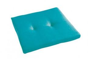Best Stuhlauflage konisch 44 x 48/44 x 5cm Dessin Nr.: 1360 Farbe: blau