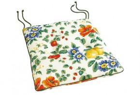 Best Stuhlauflage konisch 45 x 46/42 x 5cm Dessin Nr.: 0612 Farbe: gemustert