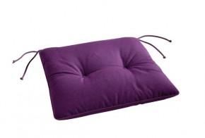 Best Stuhlauflage konisch 45 x 46/42 x 5cm Dessin Nr.: 1234 Farbe: lila