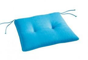 Best Stuhlauflage konisch 45 x 46/42 x 5cm Dessin Nr.: 1360 Farbe: blau