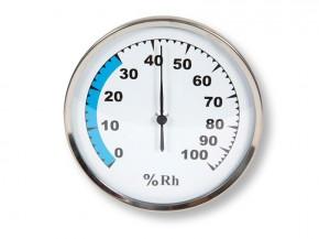Karibu Hygrometer Classic - rund 10cm