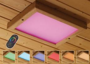 Karibu Leuchte Farblichtanwendung LED Premium Grösse 2 inkl. Fernbedienung