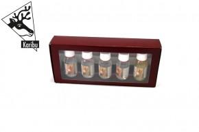 Karibu Set Sauna Aufgusskonzentrat Geschenkpaket (5 x 100ml)