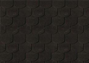 Karibu Dachschindeln Biberschwanz - Schwarz 3m² Pakete