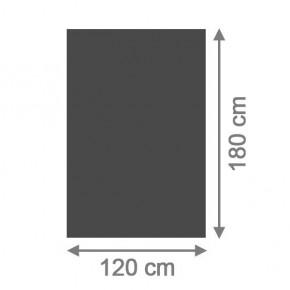 TraumGarten Sichtschutzzaun System Board Aluminium Rechteck schiefer - 120 x 180 x 0,6 cm