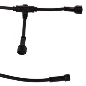 TraumGarten Verlängerungskabel T-Verbinder 1 Ein- 2 Ausgang Lichtleiste - 220 cm