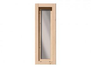 Karibu Holz Fenster für 28 mm Wandstärke - Dreh-/Kipptechnik - 60 x 170 cm - naturbelassen