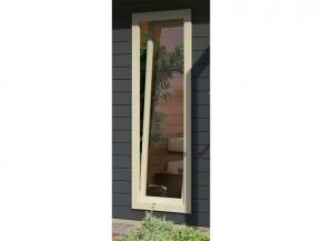 Karibu Holz Fenster für 28 mm Wandstärke - Dreh-/Kipptechnik - 60 x 170 cm - elfenbeinweiß