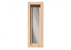 Karibu Holz-Gartenhausfenster Dreh-/Kipptechnik länglich für 28 mm Wandstärke - elfenbeinweiss