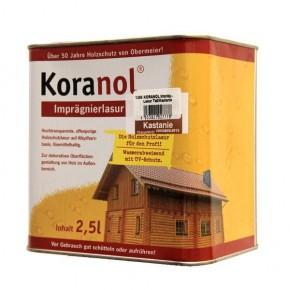 TraumGarten Imprägnierlasur KORANOL Braun - 2,5 Liter