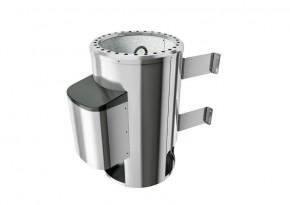 Karibu Plug&Play Saunaofen mit elektronischer Außensteuerung. 3,6 kW (230Volt) modern inkl. 20 Kilo Steinen