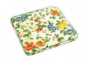 Best Stuhlauflage eckig 48 x 48 x 4cm Dessin Nr.: 0612 Farbe: gemustert