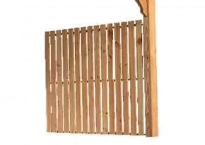 Karibu Seitenwandelement für Terrassenüberdachung PREMIUM Modell 1 - Douglasie