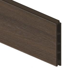 TraumGarten Einzelprofil System WPC Platinum braun - 15 x 2 x 178 cm