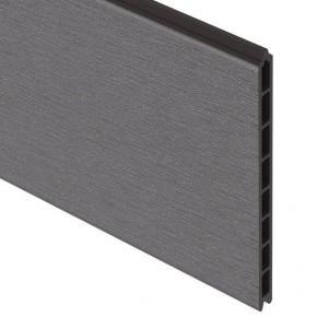 TraumGarten Einzelprofil System WPC XL anthrazit - 30 x 2 x 178 cm