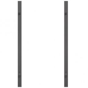 TraumGarten Torpfosten Universal Set anthrazit für Doppeltore - 8 x 8 x 255 cm