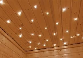 Karibu Leuchte Sternenhimmel LED Stimmungslicht - inkl. Funksteuerung
