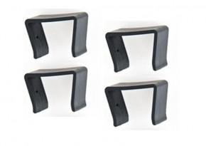 Rattan Loungemöbel Halteklammern für Serie Espace - 4er Set