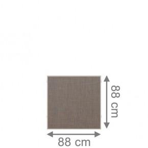 TraumGarten Sichtschutzzaun Weave LÜX Rechteck bronze - 88 x 88 cm