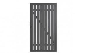 TraumGarten Sichtschutzzaun Tor Squadra DIN Links anthrazit/anthrazit - 180 x 98 x 4 cm