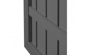 TraumGarten Sichtschutzzaun Tor Squadra DIN Rechts anthrazit/anthrazit - 180 x 98 x 4 cm