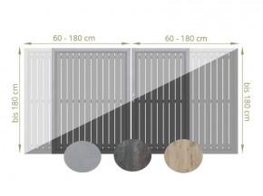TraumGarten Doppeltor Maßanfertigung Keramik - Farbe und Größe frei wählbar