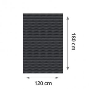 TraumGarten Sichtschutzzaun Flow Rechteck Farbe anthrazit - 120 x 180 x 2 cm