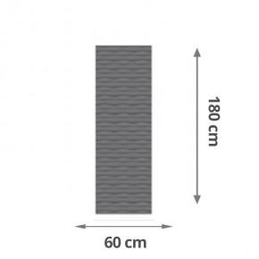 TraumGarten Sichtschutzzaun Flow Rechteck Farbe anthrazit - 60 x 180 x 2 cm