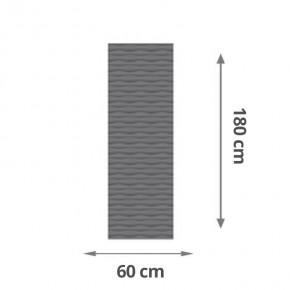TraumGarten Sichtschutzzaun Flow Aluminium Gitter Farbe anthrazit - 60 x 180 x 2 cm