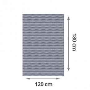 TraumGarten Sichtschutzzaun Flow Rechteck Farbe silber - 120 x 180 x 2 cm
