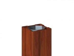 TraumGarten Zaunpfosten Longlife braun - 8 x 8 x 150 cm