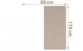 TraumGarten Sichtschutzzaun Textil-Geflecht Weave Rechteck gray 178 x 88 c0