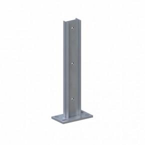 TraumGarten Pfostenträger System Steckpfosten zum Aufschrauben - 16 x 8 x 40 cm