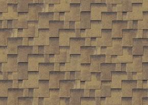 Karibu Dachschindeln Asymmetrisch - zedernholz