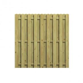 TraumGarten Sichtschutzzaun Jumbo Nadelholz Rechteck kdi - 179 x 179 cm