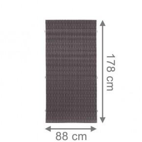 TraumGarten Sichtschutzzaun Weave Rechteck anthrazit - 88 x 178 cm