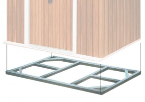 Tepro Metall-Unterkonstruktion Titan 8x8