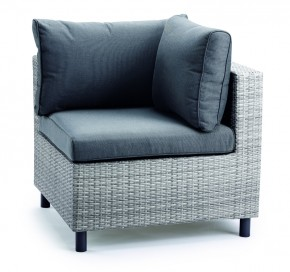 Best Lounge Eckteil Bonaire warm-grey