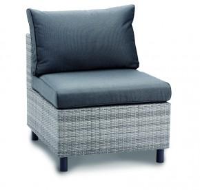 Best Lounge Mittelteil Bonaire warm-grey