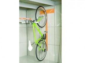 Wolff Finnhaus Metall-Gartenhaus Fahrradhalter für Wand 21