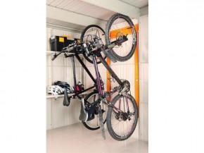 Wolff Finnhaus Metall-Gartenhaus Fahrraderweiterung zum Fahrradhalter