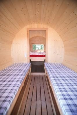 Wolff Finnhaus Matratze für den Vorraum vom Campingfass aus Holz