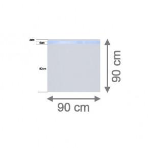 TraumGarten Sichtschutzzaun System Glas Beta Rechteck - 90 x 90 x 0,8 cm