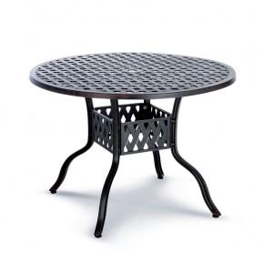 Best Tisch Antigua 106cm Ø Alu-Guss bronce